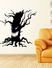 Fashion Multicolor Kst-7 Halloween Ghost Tree Wall Sticker