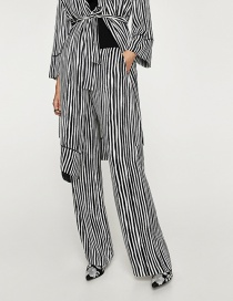 Fashion Stripe Striped Trousers