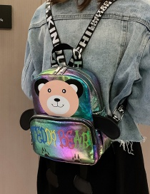 Fashion Colorful Cartoon Children's Backpack