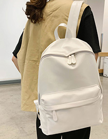 Fashion White Backpack