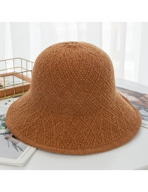 Fashion Caramel Knit Foldable Earmuffs