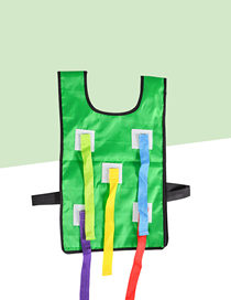 Fashion Green Vest Tail Sticky Jersey Outdoor Children's Toys