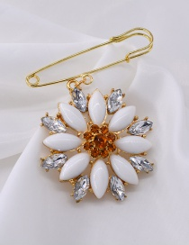 Fashion Gold Big Chrysanthemum