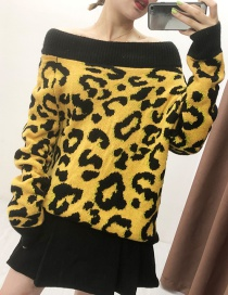 Fashion Leopard Knitted Sweaters