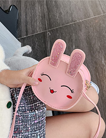 Fashion Pink Cartoon Bunny Child Coin Purse