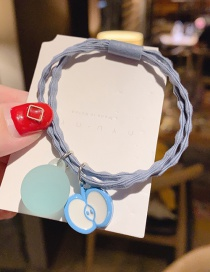 Blue Apple Fruit Hair Rope  Rubber Band
