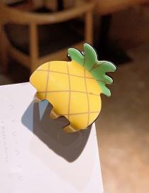 Glass Cartoon Fruit Hairpin Trumpet  Resin