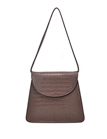 Fashion Gray Stone Pattern Shoulder Bag Shoulder Bag