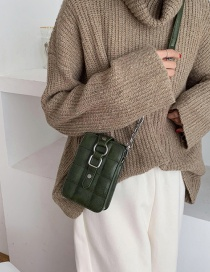 Fashion Green Chain Shoulder Bag