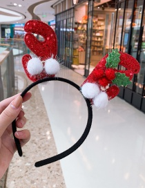 Fashion White Ball Ball Antlers Headband Antler Hair Ball Child Headband