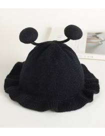Fashion 21 # Little Bee-black Bee Lace Baby Hat