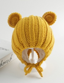 Fashion Ginger Ear Band Baby Hat