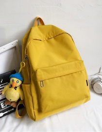 Fashion Yellow Belt With Pendant Duck Charm Backpack