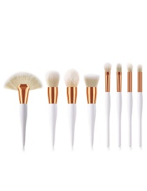 Fashion Platinum 8 Sticks Makeup Brush Set