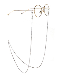 Fashion Silver Steel Stainless Steel Chain Glasses Chain