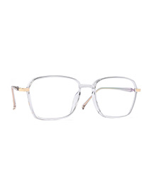 Fashion Grey Box Square Large Frame Can Be Equipped With Mirror Flat Mirror For Men And Women