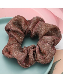Fashion Red Rose Vertical Striped Sequin Large Bowel Hair Rope