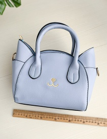 Fashion Light Blue Pu Cat Shoulder Bag Crossbody Bag