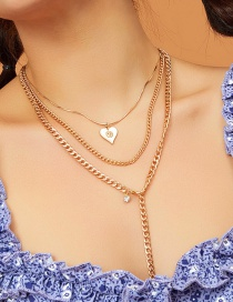 Collar Love Chain Multicapa