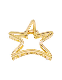 Fashion Star Alloy Pentagram Hollow Grab
