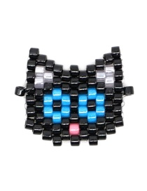 Fashion Color Kitty Head Animal Series Accessories
