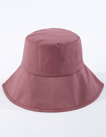 Fashion Leather Purple Light Board Big Fisherman Hat