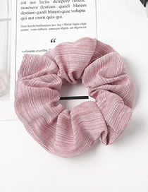 Fashion Rose Red Pure Color Fine Line Large Intestine Hair Ring Hair Rope