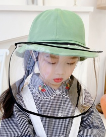 Fashion Green Anti-fog And Epidemic Prevention Fisherman Hat