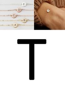 Fashion Steel-t (6mm) Stainless Steel Engraved Geometric Bracelet