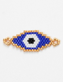Fashion Sapphire Bead Braided Eye Accessories