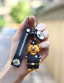 Little Daisy Tiger Small Daisy Shoes Police Bear Car Pendant Keychain