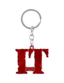 Fashion Red Clown Regain It Keychain