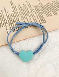 Fashion Peppermint Green Heart-shaped Double Knot Knot