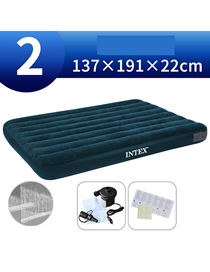 Fashion 137cm Wide Bed ‖ Home Electric Pump Household Thickened Folding Inflatable Mattress