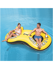 Ocean Paradise Lounge Chair Water Floating Row