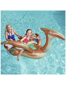 Fashion Dinosaur Air Pterosaur Mount Inflatable Floating Bed For Children