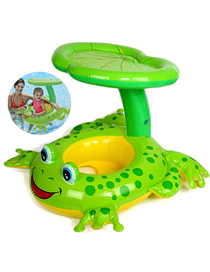 Fashion Frog Frog Baby Shade Swimming Seat Ring
