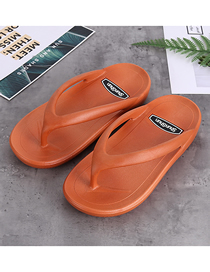 Fashion Orange Shake Bottom Non-slip Couple Flip-flops