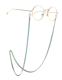 Fashion Color Multicolored Non-fading Anti-skid Glasses Chain
