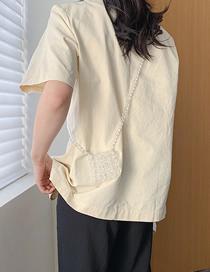 Fashion Transparent Handmade Beaded Shoulder Bag