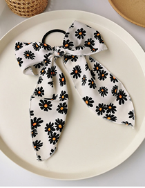 Fashion Bowknot (white) Small Daisy Bow Ribbon Ribbon Bowel Hairpin