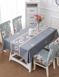 Fashion Late Autumn (120 * 120cm Without Chair Cover) Printed Dustproof And Waterproof Household Tablecloth