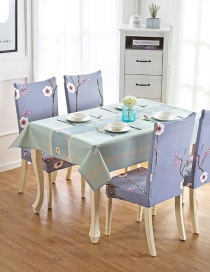 Fashion Winter Flower (140 * 180cm Without Chair Cover) Printed Dustproof And Waterproof Household Tablecloth