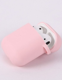 Fashion Pink Suitable For Apple Silicone Bluetooth Wireless Headphone Case 12th Generation Pro3