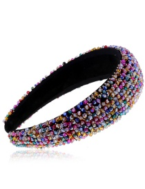 Fashion Color 206157w Wind Crystal Full Diamond Headband Crystal Headband Accessories