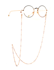 Fashion Golden Handmade Pearl Chain Glasses Chain
