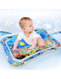 Fashion Blue Pvc Baby Inflatable Water Pad