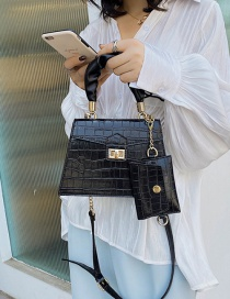 Fashion Black Crossbody Shoulder Bag