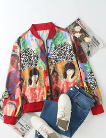 Fashion Portrait Portrait Print Jacket