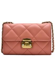 Fashion Orange One-shoulder Crossbody Bag